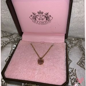 Juicy Couture 💗 Pink Heart Necklace